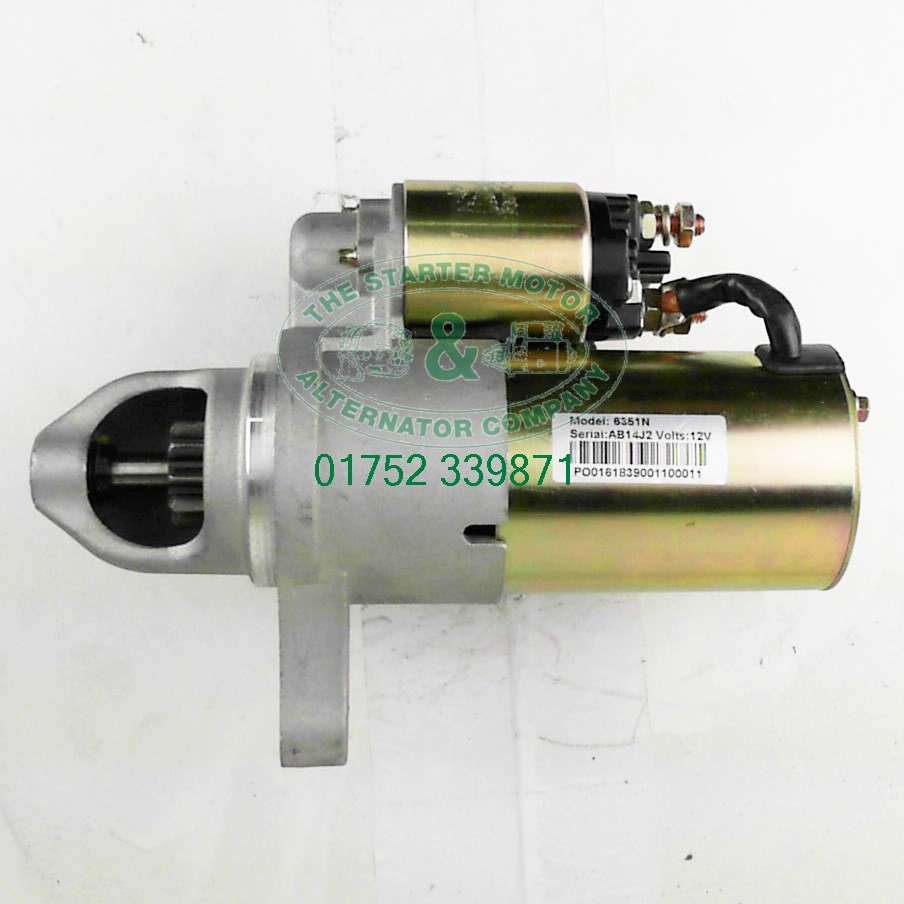 Dodge Nitro 2 8 Crd Starter Motor Automatic S2691