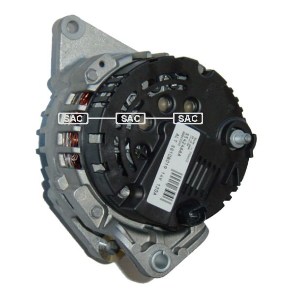 renault scenic 1 120 amp alternator 1 9 dci ac dti b507. Black Bedroom Furniture Sets. Home Design Ideas