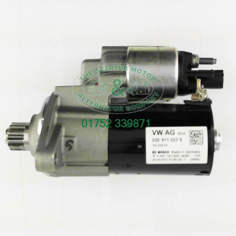 vw california 2 0 tsi dsg starter motor s2547 oe. Black Bedroom Furniture Sets. Home Design Ideas