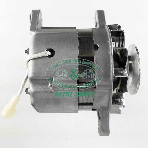 Yanmar 1gm 2gm 3gm 35 amp marine alternator a1191 for Yanmar 2gm20 starter motor